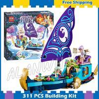 311 cái Elves Naida của Epic Phiêu Lưu Tàu Máy Bay Thuyền 10411 Xây Dựng Mô Hình Khối Lắp Ráp Quà Tặng lập Tương Thích Với Lego