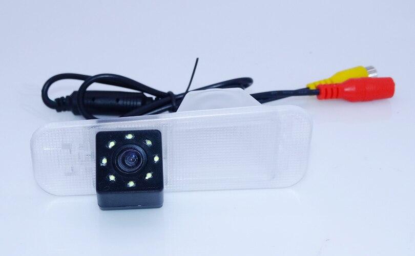 "bring wide view lens angle car rear camera with screen display 4.3"" black shell car rearversing camera for  KIA K2 Rio Sedan-in Car Monitors from Automobiles & Motorcycles    2"