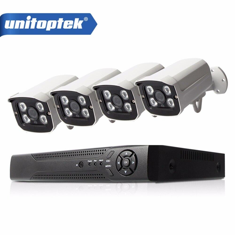 H 265 4CH 48V NVR POE CCTV System Kit 4MP 2592 1520 Indoor Outdoor Bullet POE
