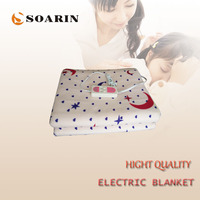 SOARIN Electric Blanket Double Control Switch Manta Electrica 220v Electric Heating Blanket Plush Heater Blanket 150x180 Heated