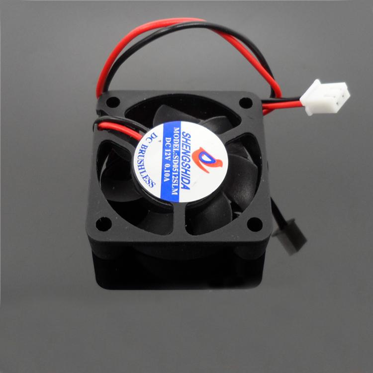 2PCS 40mm*40mm*10mm Mini Heatsink Fan for RC Models DC 5V 12V Ultra-quiet Cooling Fan DIY Accessories
