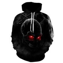 2019 New Fashion Men/Women Hoodies man Print Metal Skulls Hooded Thin 3d Sweatshirts Hoody hip hot Steetwear