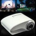 Портативный мини HD Главная Кинотеатр Мультимедиа LED Lcd-проектор HD 1000:1 Поддержка HD 1080 P USB ПК AV TV VGA HDMI бесплатно доставка