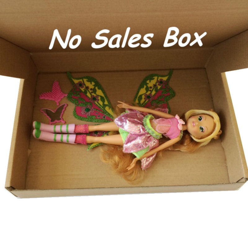 Free Shipping Winx Club 11 5'' Deluxe Fashion Winx Doll Believix