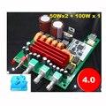 2017 Nueva Brisa TPA3116 Hifi Audio 2.1 50 W * 2 + 100 W * 1 amplificador Subwoofer Bluetooth 4.0 estéreo de Audio Digital Tablero Del Amplificador de Potencia