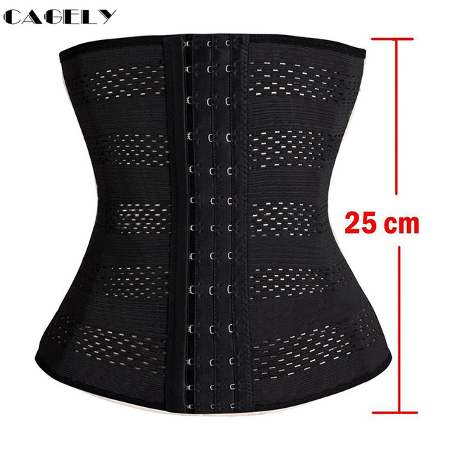 Womens Waist Trainer Cincher Body Shaper Underwear Lingerie Tummy Slim Belt Postpartum Control Underbust Steel Boned Corset