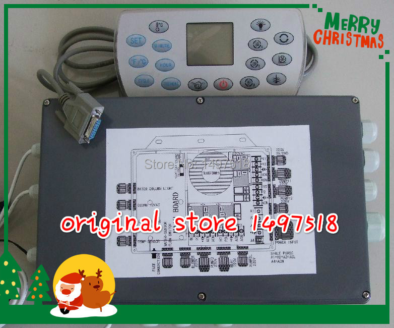 KL8-3 spa parts and controller replacement for chinese spa brand JNJ, Monalisa, jazzi, mesda and for other spa accessory цена 2017