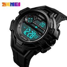цена на SKMEI Fashion Sports MEN Watch 50m Waterproof Multifunction LED Digital Watch Business Casual Wrist Watch Models Relogio Watches