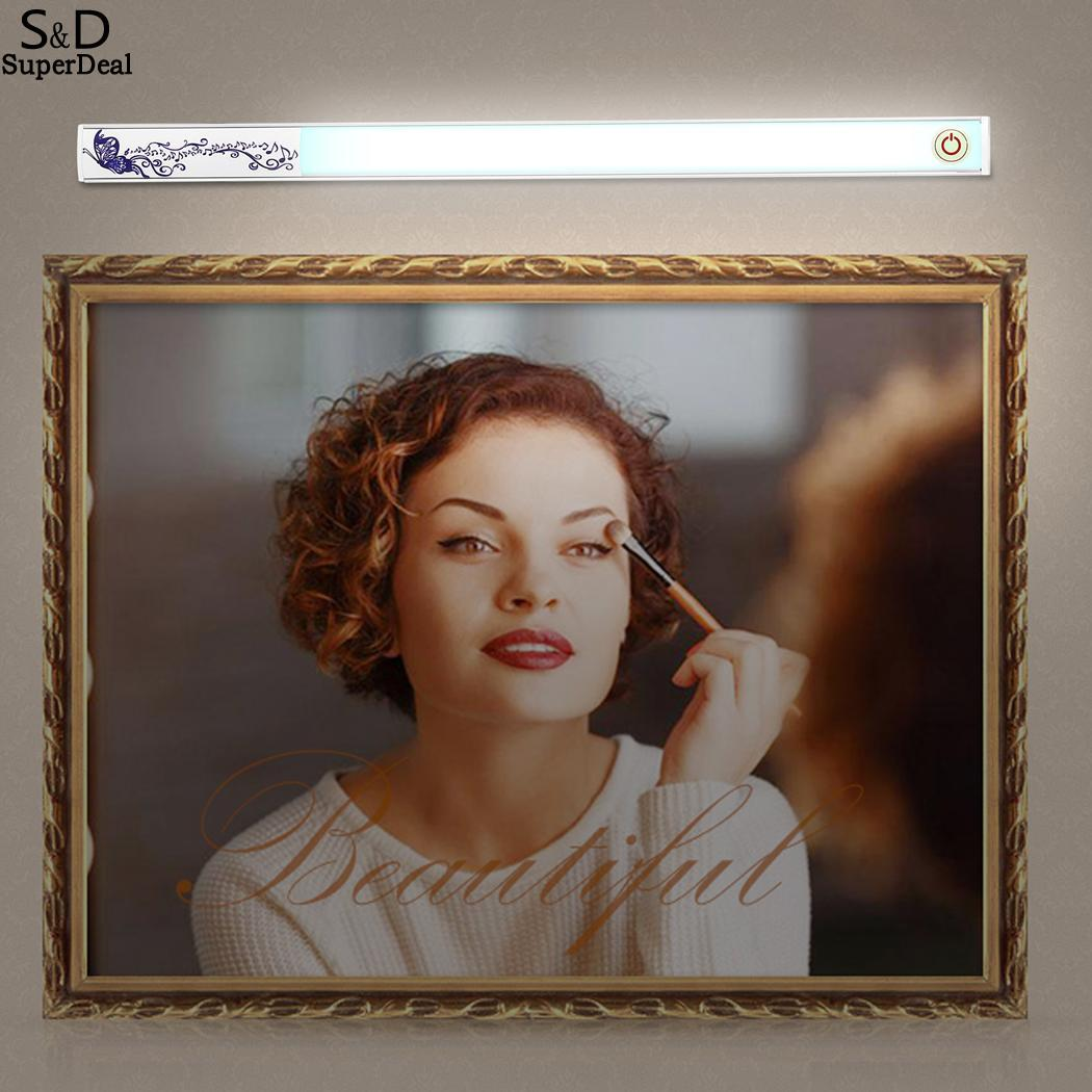 Mirror Vanity Make Up Light Bathroom Vanity LED Light Touch Control Dimmable