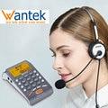 Wantek ARAMA Headset Telefon mit Noise Cancelling Headset Festnetz Anrufer ID Telefon Voll Funktionale Dialpad Desktop Telefon-in Kopfhörer-Zubehör aus Verbraucherelektronik bei
