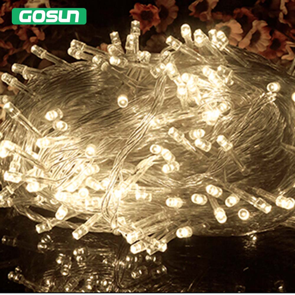 Hot Sale M String Light Christmas Wedding Party Decoration Lights Ac V V Holiday Decorative Fairy Led Lighting In Led String From Lights
