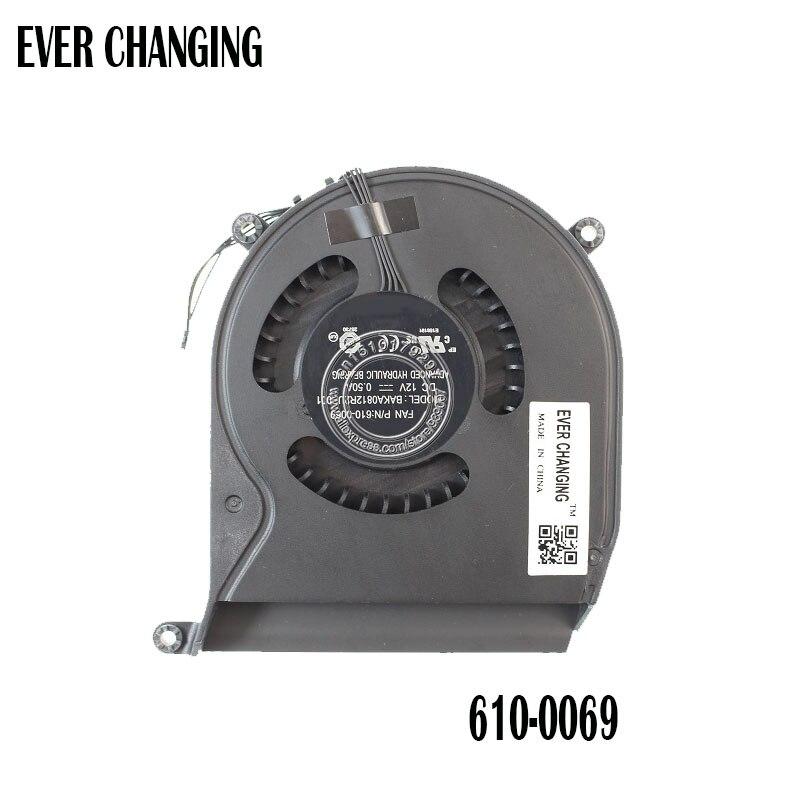 BAKA0812R2UP001 DC12V 0.50A вентилятор охлаждения для Apple вентилятор P/N: 610-0069 Apple Mac mini A1347 MID 2011 Вентилятор охлаждения