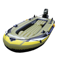 Water Sport Rowing Bearings 4 man Boat With Pump Inflatable Boat Rubber Ship Fishing Boat and Kayak