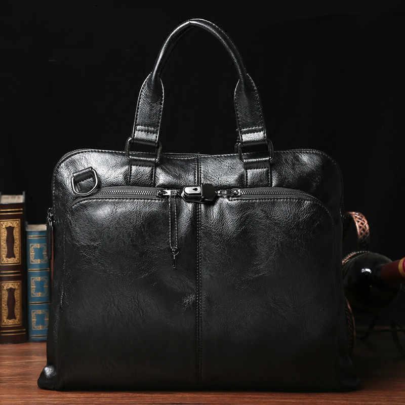 Tidog korean briefcase business bag shoulder bag