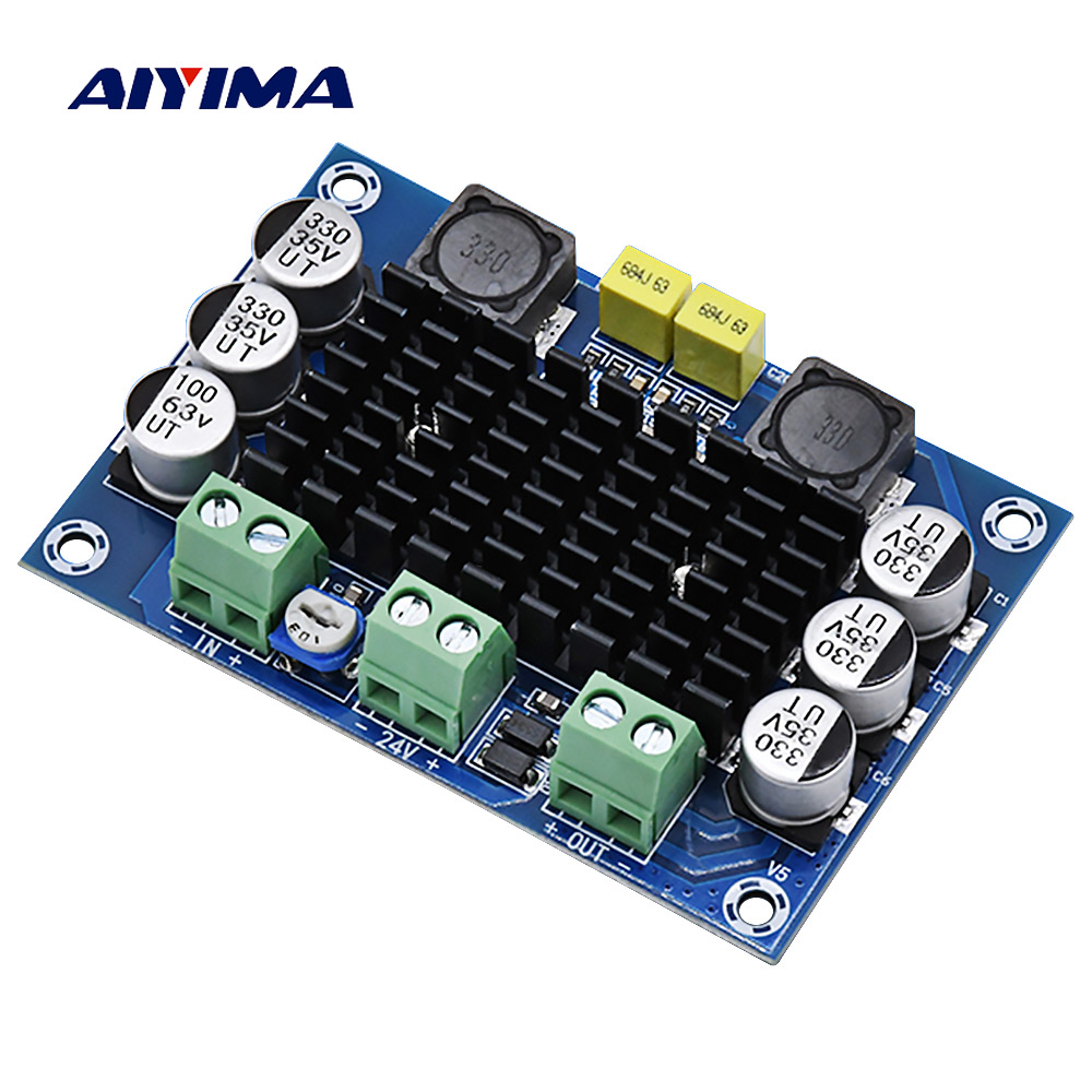 AIYIMA TPA3116D2 Digital Audio Amplifier Papan Mono Power Amplifier DC12-26V Amplificador DIY Suara Speaker Rumah Amplifier