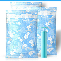 YINUO 10PCS/SET Thickening Vacuum Suction Quilt Cotton Compressed Travel Storage Space Saving Clothing Seal Organizer Bags