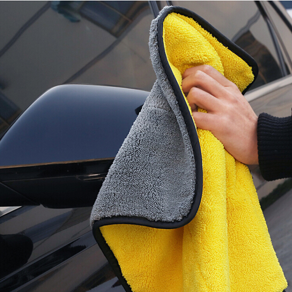 Car-styling Car Care Wash Cleaning Microfiber Towel For Renault Ford Focus 2 Audi A4 B5 Peugeot 206 Ford Mondeo Mk4 Audi A3 Exterior Accessories