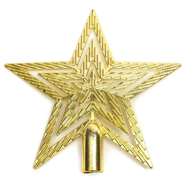 Us 0 89 14 Off Christmas Tree Top Star Christmas Star Tree Topper For Table Christmas Ornament Xmas Decorative Multicolor Optional In Pendant Drop
