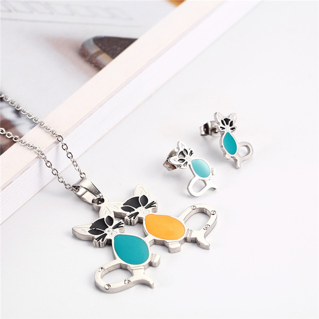 OUFEI Stainless Steel Charm...