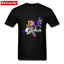 Video Game Splatoon Tees for Teenagers Retro Looking  Shirt Crew Neck Low Price Branded T Shirt Gifts for Valentines Day