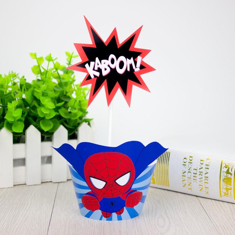 Avengers Cupcake