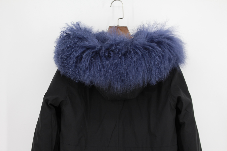 Parent-childs natural fur parkas with hood (22)