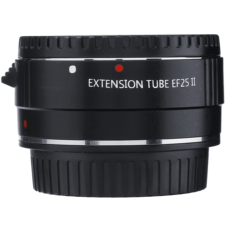 Anneau de Tube d'extension AF Macro à montage automatique en métal pour objectif Canon EOS EF-S 80D 70D 60D 5D3 5 DIII 5D2 5DII 7D 7DII 5D4 5DIV 6D