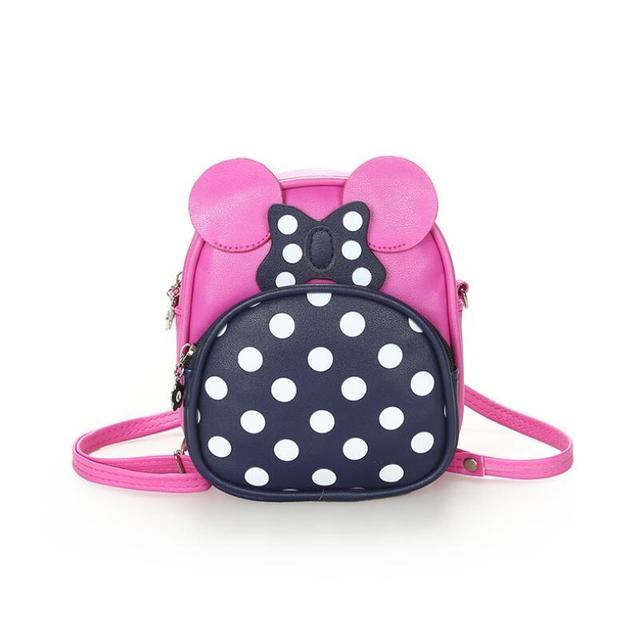 4cf8c6acbc Kids Girls Messenger Bags Cartoon Minnie Cute School Bag Children Handbag  Girl Shoulder Bag Women Crossbody Bags
