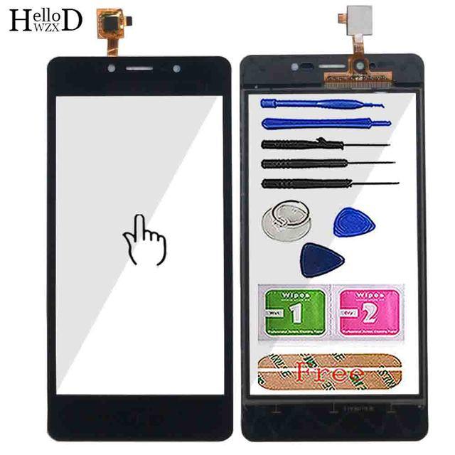 5.0 Pannello Dello Schermo di Tocco Per Leagoo Potenza 2 Pannello Touch Screen Digitizer Sensor Anteriore Esterno della Lente di Vetro Sensore di Strumenti adesivo