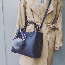 Mode neueste design frauen vintage handtasche kurze schulter eimer taschen birne schal schwarz/grau/weinrot