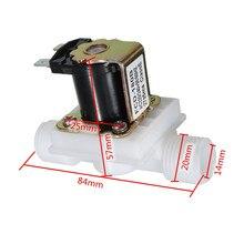 """Новая лучшая цена 1 шт. AC220V Электрический Соленоидный клапан Магнитный N/C воды воздуха на входе переключатель потока N/C 1/2"""""""