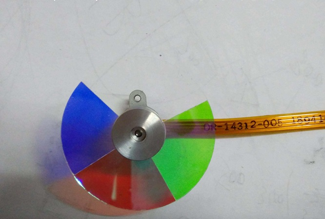 New For Toshiba T98T S30 W100C DLP Projector Color Wheel