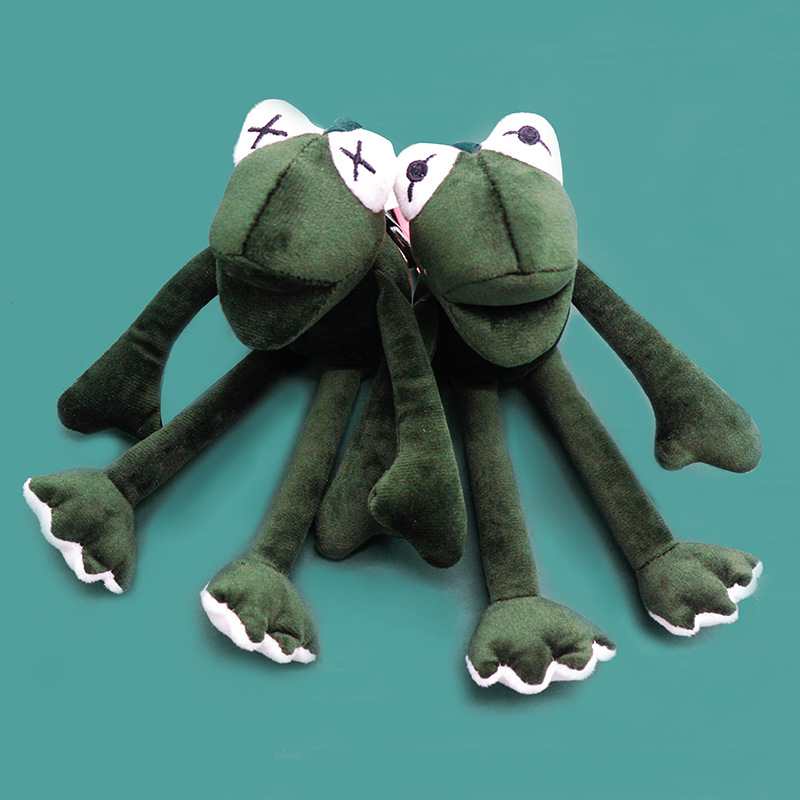 2019 New Sesame Street The Muppets Kermit the Frog Cute Plush Toys Cartoon Stuffed Dolls Keychain Pendant Kids Gift in Key Chains from Jewelry Accessories