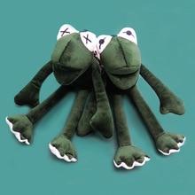 2019 New Sesame Street The Muppets Kermit the Frog Cute Plush Toys Cartoon Stuffed Dolls Keychain Pendant Kids Gift free shipping 45cm cartoon the muppets kermit frog plush toys soft boy doll for children birthday gift