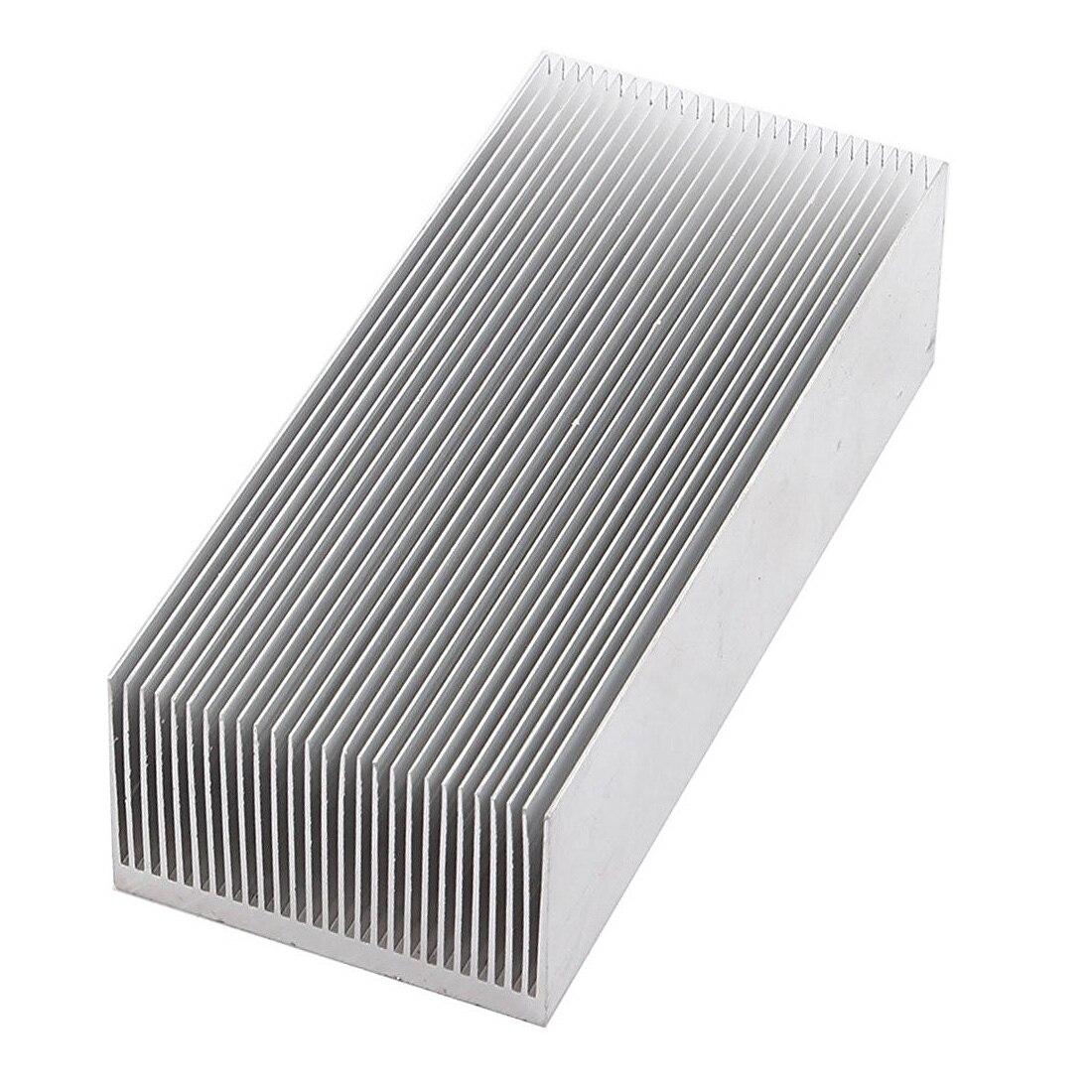 De Chaleur en aluminium Radiateur Radiateur de Refroidissement Fin 150x69x37mm Ton Argent