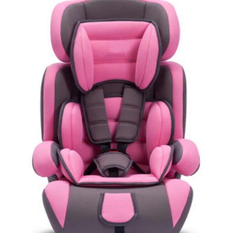 Siège de voiture de sécurité pour 9M ~ 12Y enfants et bébé avec ceinture de sécurité siège de voiture de Protection Portable pour enfants et enfants sièges de bébé en sécurité
