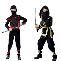 Milankerr Kids Cosplay Costume Martial Arts Ninja Costumes Halloween Fancy Party Clothing Children Party Game Classic