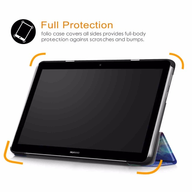 Ultra Slim PU Leather Case For Huawei MediaPad T3 10 AGS-L09 AGS-W09 9.6″Tablet PC stand cover for huawei mediapad t3 10 case