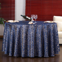 Hotel Round Tablecloth Restaurant Square European Style Wedding Dining Table Coffee Cloth 280D cm