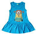 2017 summer Girls Dress cute Cartoon Kids Dresses For Girl Clothes 2-7Y Children Vestidos Costume Roupas Infantis Menina