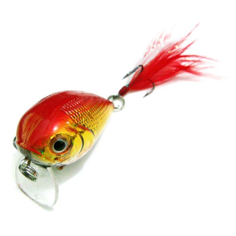 Minnow Fishing Lures Bass CrankBait Hooks Crank Bait Tackle 4cm/10g sinking fishing lures minnow crank bait crankbait tackle treble hook 5g 50mm 1pc