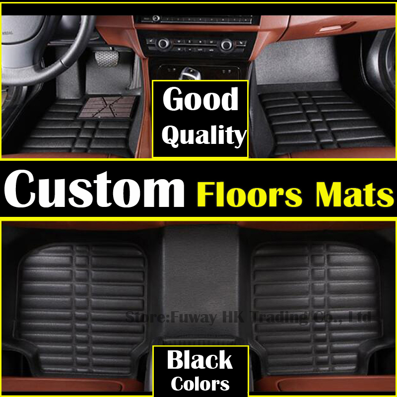 high strength pedal Custom car floor mats leather for PEUGEOT 408 3008 207 307 508 2008 206 301 3008 3D car styling carpet liner for mazda cx 5 cx5 2nd gen 2017 2018 interior custom car styling waterproof full set trunk cargo liner mats tray protector