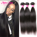 3 pçs/lote meche cheveux naturelle hetero indiano virgem do cabelo 8-28 polegadas reto de seda indiano virgem extensões de cabelo natural