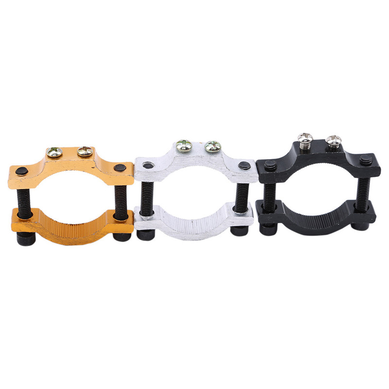 Motorcycle Headlight Spotlight Mount Holder Fixed Clamp Motorcycle Lamp Accessories Electric Car Lamp Fixed Tools With Screws