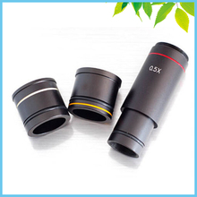 Promo offer 0.5X Microscope Camera Reduction Lens Eyepiece C-mount Adapter for CCD Camera Digital Eyepiece