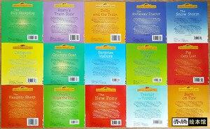 Image 4 - 15 pz/set 15x15 cm Migliore Libri Illustrati Per Bambini E Neonati famosa Storia Inglese Tales Serie Di Bambino libro Aia Tales Storia