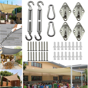 Image 2 - Stainless Steel Sun Shades Canopy Fixing Accessories Sailing Accessory Kit 8MM Boat Accessories Marine