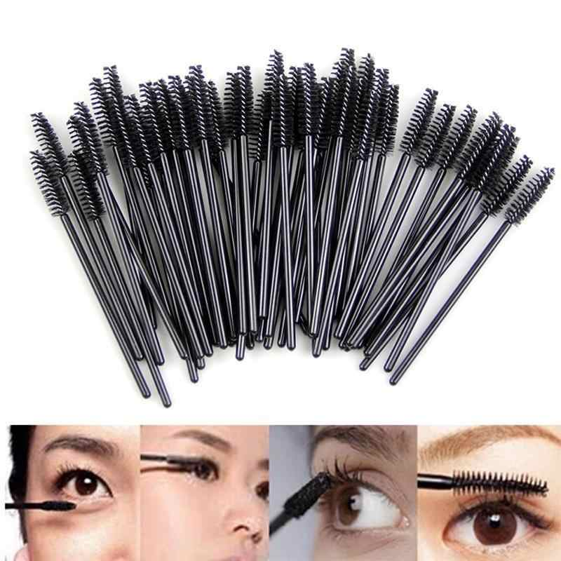 1/10PC Eyelash Brush Eyelash Roller Head Black Disposable Mascara Cosmetic Tools Makeup Brushes Professional Make Up Tools Women