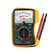 Portable KT-7003 Mini Analog Multimeter Pointer Voltage Current Battery Tester Set victor 78 multi process calibrator multimeter to measure output voltage and current signals analog transmitters vc78