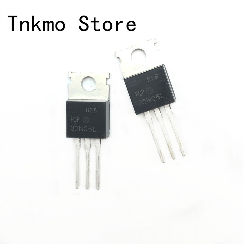 10Pcs Fqp30N06L Fqp 30N06L 60V Logic N-Channel Mosfet To-220  B TB